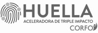 Logo Aceleradora Huella